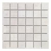 Organic Rug 2x2 Ice Mosaic Tile by Soho Studio TLGMORGICE2X2