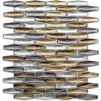 Peak Hazy Daze Hexagon Mosaic Tile by Soho Studio PEAKHZYDAZE