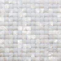 Pearl Dome White 3D Pearl Backsplash by Soho Studio PRLDOMEWT3D