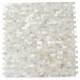 Pearl Seamless Bricks White Pearl Backsplash by Soho Studio PRLSMLSBRKWT