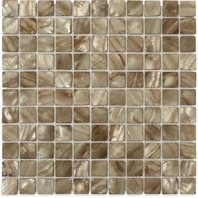 Pearl_Anchor_Gray Flat Squares Pearl Backsplash by Soho Studio PRLSQANCGRY