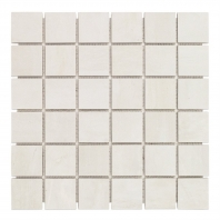 Syncro White Natural 2x2 Mosaic Tile by Soho Studio TLCNTSYNWHT2X2