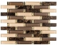 Glazzio Interlace Series Crunched Walnut INT-255