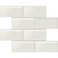 Daltile AM50- Amity White 3x6 Subway Tile