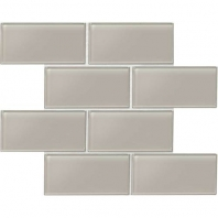 Daltile AM52- Amity Grey 3x6 Subway Tile