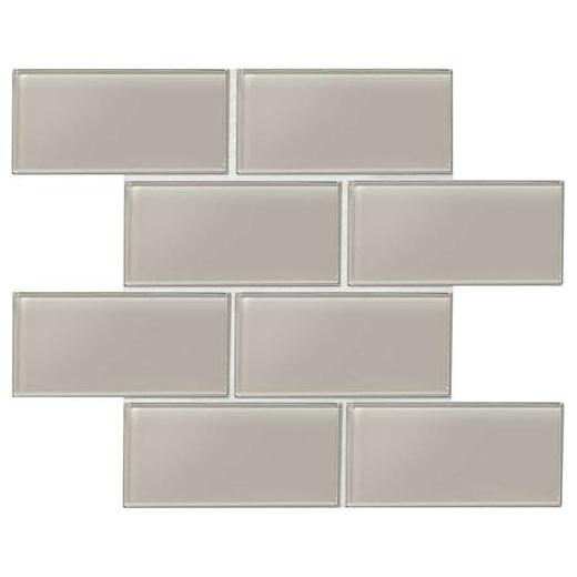 Daltile Am52 Amity Grey 3x6 Subway Tile