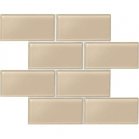 Daltile AM53- Amity Beige 3x6 Subway Tile