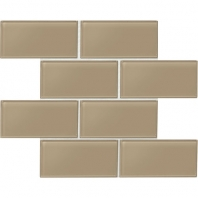Daltile AM54- Amity Brown 3x6 Subway Tile