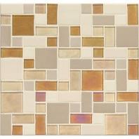 Daltile CK91- Coastal Keystones Island Harvest Block Random Mosaic