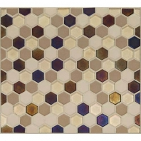 Daltile CK89- Coastal Keystones Sunset Cove Hexagon Mosaic