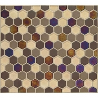 Daltile CK90- Coastal Keystones Treasure Island Hexagon Mosaic