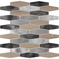 Daltile IM07- Infinite Mirage Forever Aura Hexagon Mosaic Tile