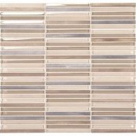 Daltile LS09- Lucent Skies Sunlit Dawn Stacked Mosaic