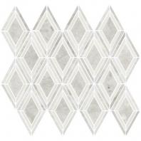 Daltile DA21- Argyle Blend White Polished Mosaic