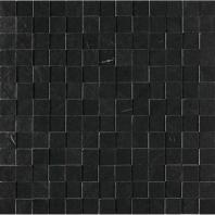 Daltile DL28- Delegate Black 1x1 3D Mosaic