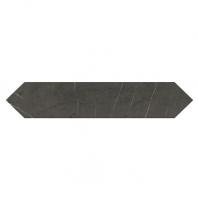 Daltile M049- Antico Scuro Picket Fence Long Hexagon Tile