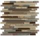 Glazzio Glass & Slate Series Rustic Taupe GS02