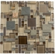 Glazzio Glass & Slate Series Rustic Taupe GS21