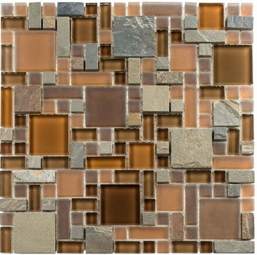 Tile Glass & Slate Hillcrest Tan GS22