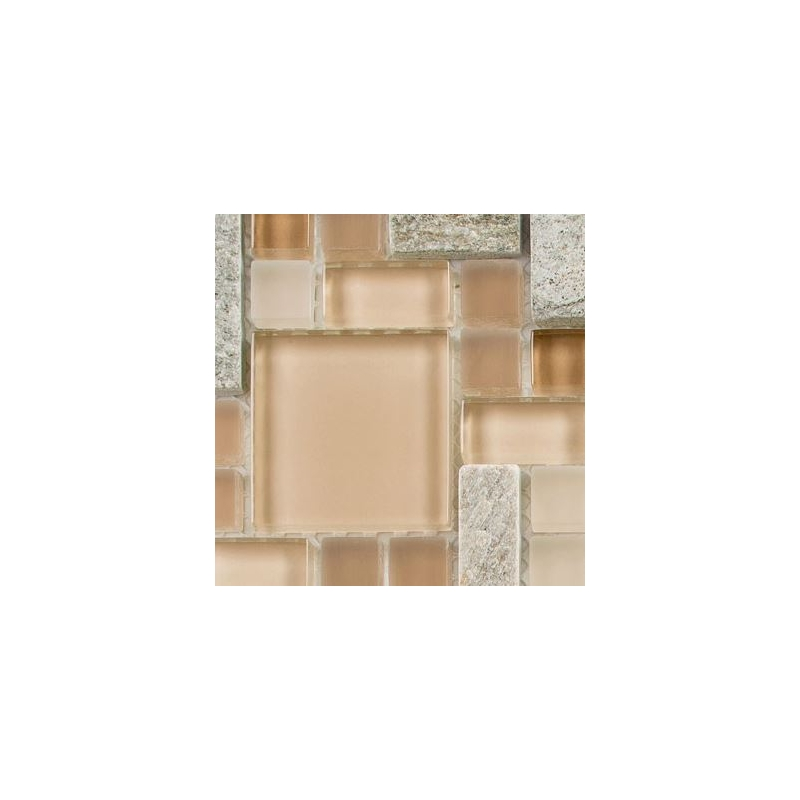 tile pictures for bathrooms buy glass tile glass amp slate chestnut screen gs29 20889