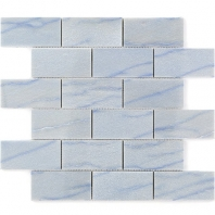 Soho Studio Blue Macauba 2x4 Interlocking Tile- 2X4BLUMAC