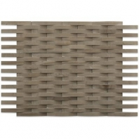 Soho Studio 3D Weave Athens Gray Basketweave Tile- 3DWEVATHGR