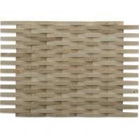 Soho Studio 3D Weave Crema Marfil Basketweave Tile- 3DWEVCRMR