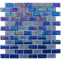 Soho Studio Aqueous Montigo 1x2 Brick Interlocking Tile- AQUEBRKMNTGO1X2