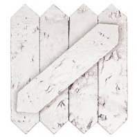 Soho Studio Artisan Glazed Bianco 2x8 Hexagon Tile- ATSGZ2X8BIANCO