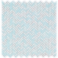 Soho Studio Eco Series Kate Herringbone Tile- ECOHERKATE