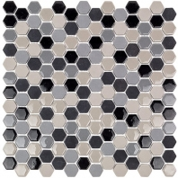 Soho Studio Eco Series Hugh Hexagon Tile- ECOHEXHUGH