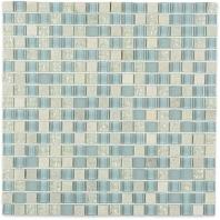 Soho Studio Fusion Summer Sky 1/2x1/2 Square Tile- FUSSQSUMSKY