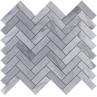 Soho Studio Burlington Gray 1x3 Herringbone Tile- HER1X3BURLGRY