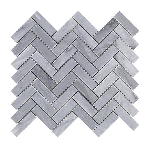 Burlington Gray 1x3 Herringbone Tile