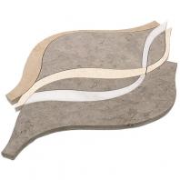 Soho Studio Careen Series Tunisia Gray Arabesque Tile- MJCAREENTUNGRY