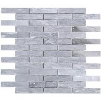 Soho Studio Burlington Gray Piano Brick 3/4x4 Interlocking Tile- PIANOBRKBURLGRY