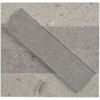 Soho Studio Stone Brushed Lady Gray Subway Tile- STBRLDGR2X8
