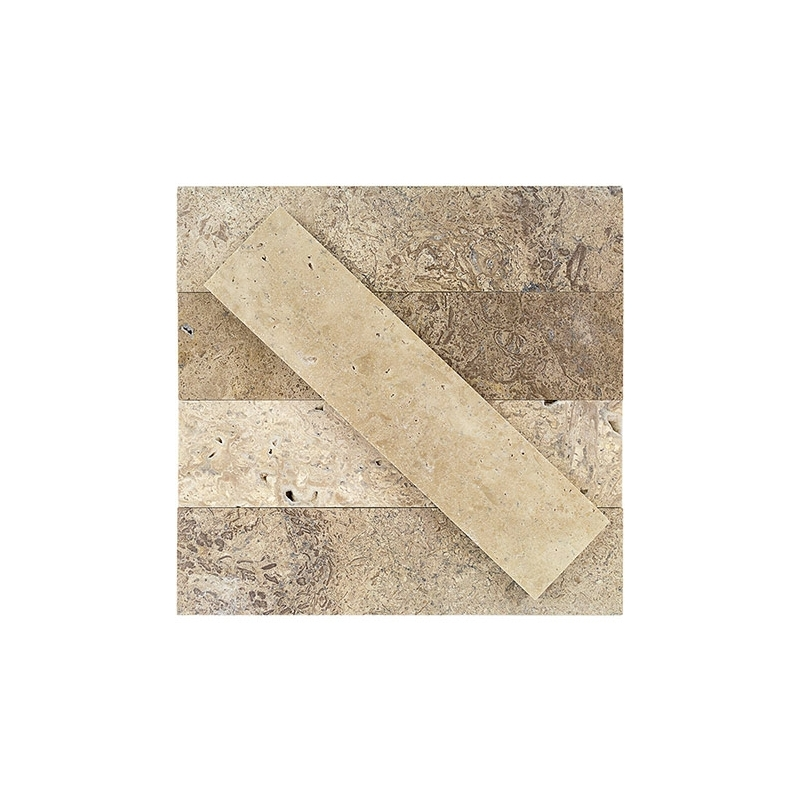 Soho Stone Brushed Wild Travertine Subway Tile Stbrwldtrv2x8 Hdaz