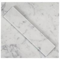 Soho Studio Stone Brushed White Carrera Subway Tile- STBRWTCR2X8