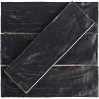 Soho Studio Myorka Black 2x8 Subway Tile- TLEQMYRKBLK2X8