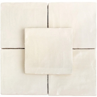 Soho Studio Myorka Cream 4x4 Square Tile- TLEQMYRKCREAM4X4