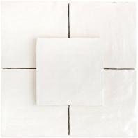 Soho Studio Myorka White 4x4 Square Tile- TLEQMYRKWHITE4X4