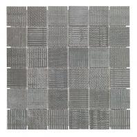 Soho Studio Organic Rug 2x2 Dark Mosaic Tile- TLGMORGDARK2X2