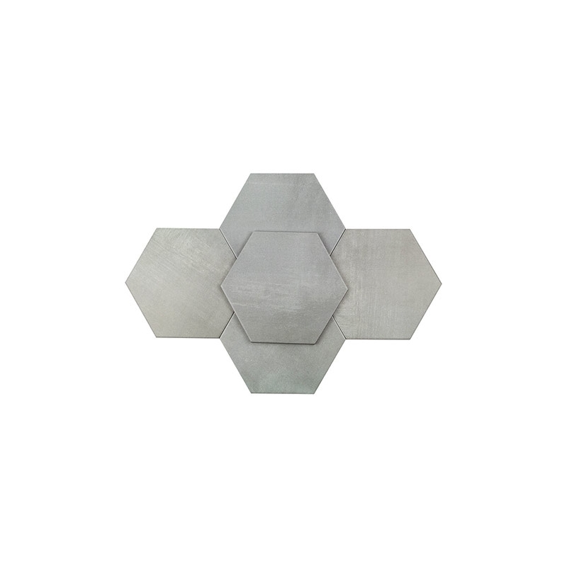Soho Elementary Gris Inch Hexagon Tile TLGTELMTRYGRIS HDAZ - 10 inch hexagon tile