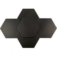 Soho Studio Elementary Mica 10 Inch Hexagon Tile- TLGTELMTRYMICA10