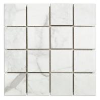 Soho Studio Kashmir Luni Blanco 3x3 Mosaic Tile- TLPAMLUNBLN3X3