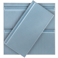 Soho Studio Corso Pincio Azul 4x8 Subway Tile- TLVIVCRSPNAZL4X8