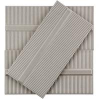 Soho Studio Corso Pincio Gris 4x8 Subway Tile- TLVIVCRSPNGRS4X8