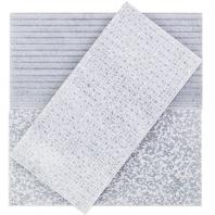 Soho Studio Textured Stone- 5x10 Burlington Gray Subway Tile- TXTSTNBURLGRY