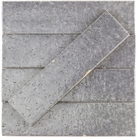 Soho Studio Urban Brick Replay Gatling Gray Subway Tile- URBBRKRPYGATGRY
